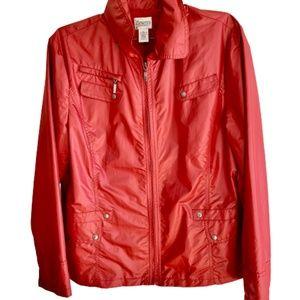 EUC Chico's Zenergy Lined Jacket Size 2 (12)